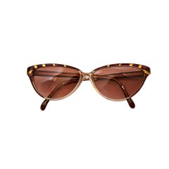 unworn NINA RICCI rose & gold sunglasses
