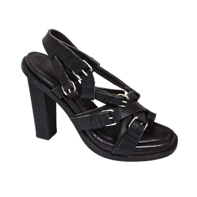 BALENCIAGA spring 2003 sandals - unworn size 41