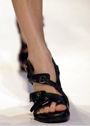 BALENCIAGA spring 2003 sandals - unworn size 41 image 3