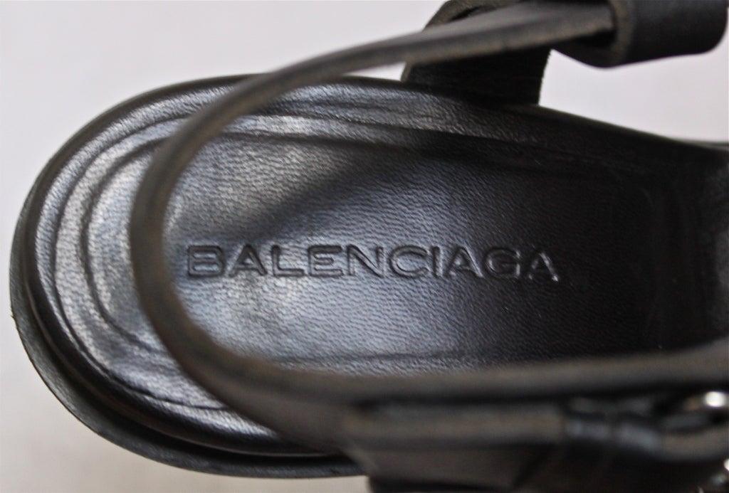 BALENCIAGA spring 2003 sandals - unworn size 41 image 4
