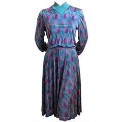1970s MISSONI silk jersey dress