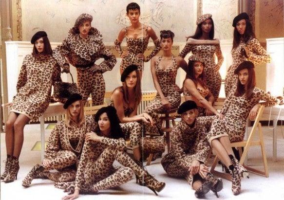very rare AZZEDINE ALAIA leopard knit dress 4