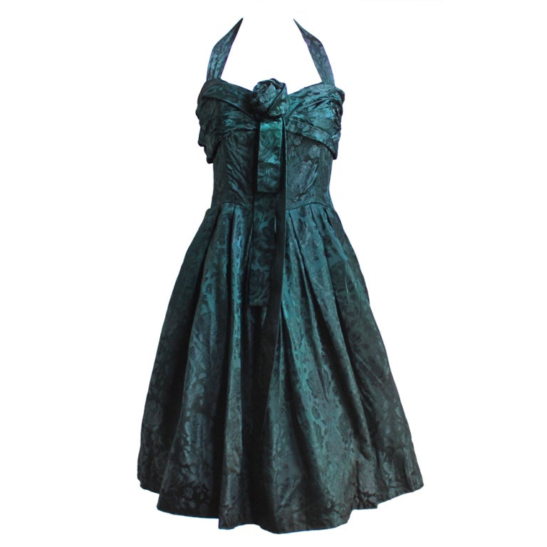 *SALE* 50's CHRISTIAN DIOR haute couture brocade dress WAS $950 NOW $450 1