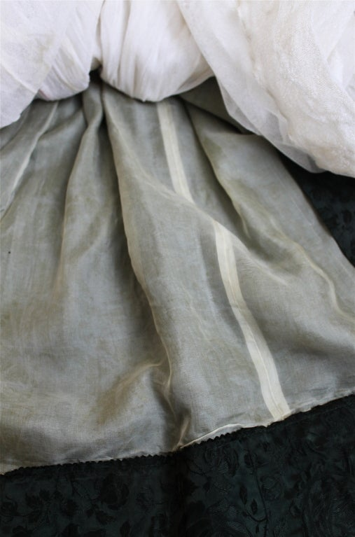 *SALE* 50's CHRISTIAN DIOR haute couture brocade dress WAS $950 NOW $450 6