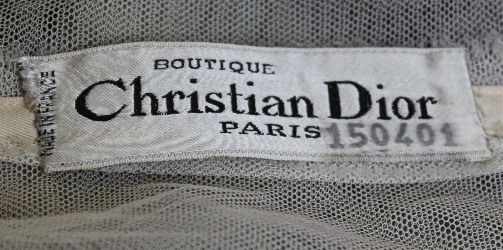 *SALE* 50's CHRISTIAN DIOR haute couture brocade dress WAS $950 NOW $450 7