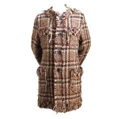 JUNYA WATANABE COMME DES GARCONS tweed coat