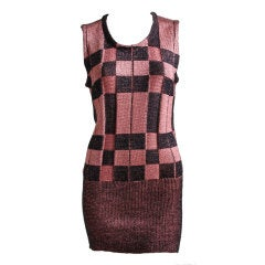 LANVIN sweater dress - 1986