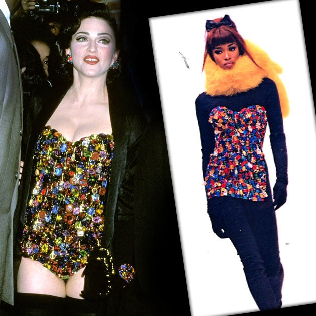 1991 Dolce & Gabbana 'Le Pin Up' jewelled bustier corset For Sale 2