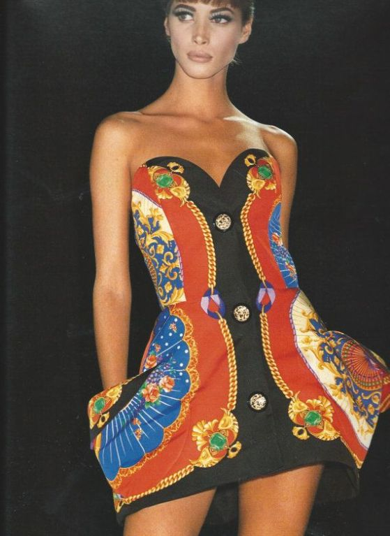 Very Rare Gianni Versace Couture Sculpted Runway Dress 1991 At 1stdibs