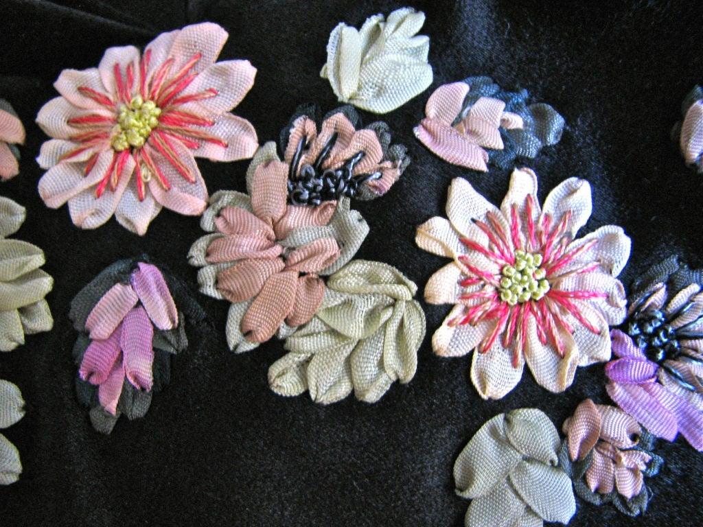 Alexander mcqueen silk bustier dress with ribbon
