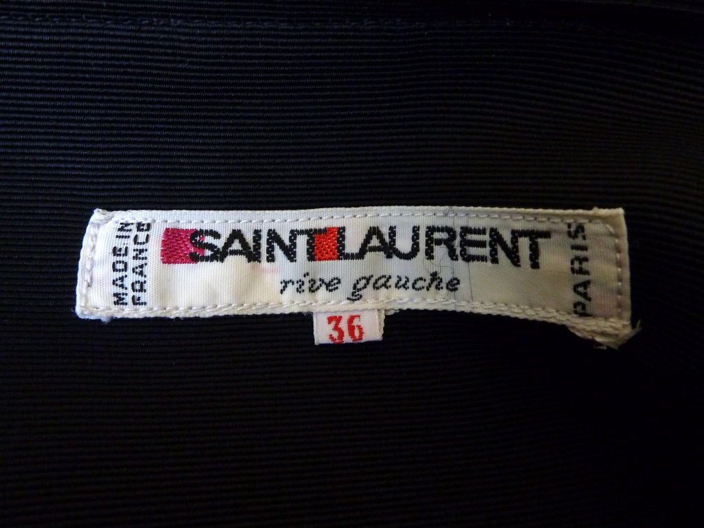 YVES SAINT LAURENT dress with harlequin print 3
