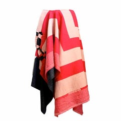 COMME DES GARCONS asymmetrical draped skirt