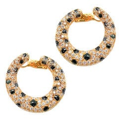 CARTIER Panthere Earclips