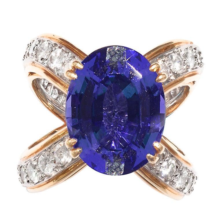 Tiffany & Co. Tanzanite Ring by Donald Claflin 1