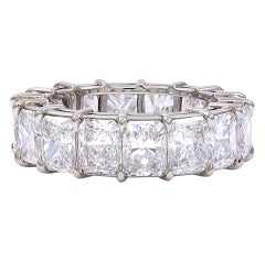 Amazing  Radiant Diamond Eternity Band