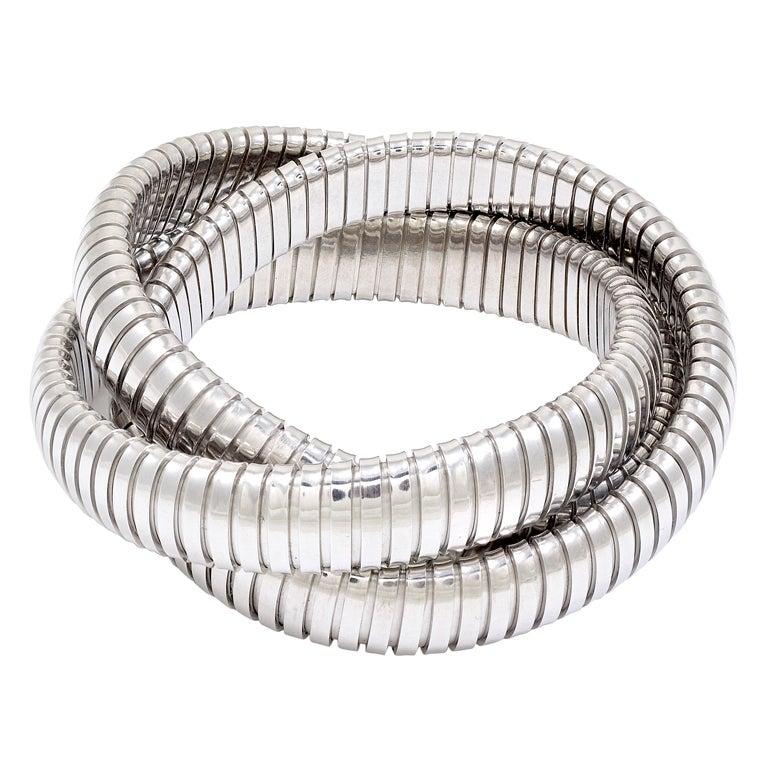 Sterling Silver Tubogas Bracelet 1