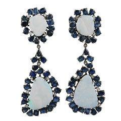 Moonstone and Sapphire