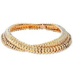 VAN CLEEF & ARPELS Paris Diamond Gold Necklace