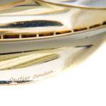 Women's Cartier London, Diamond & Ruby Double Leaf Brooch For Sale