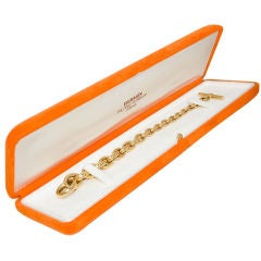 HERMES 18K Crescendo Bracelet