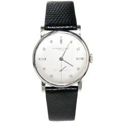 Audemars Piguet Gold & Diamond Dial watch
