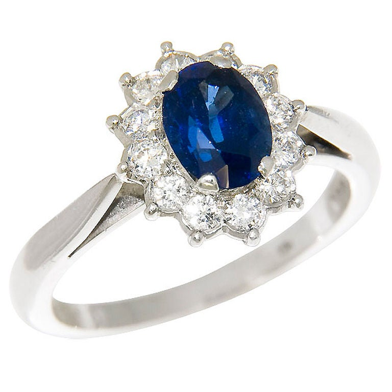 cartier platinum and sapphire ring at 1stdibs