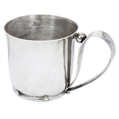 William Spratlaing vintage Sterling Baby Cup
