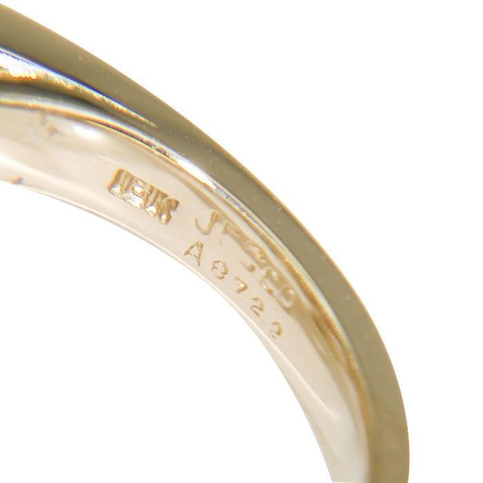 OSCAR HEYMAN FOR J.E. CALDWELL Sapphire & Diamond Ring 2