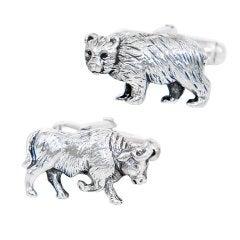 TIFFANY & CO. Bull & Bear Cufflinks