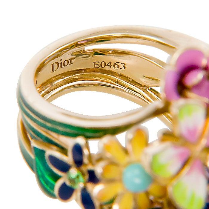 CHRISTIAN DIOR, Diorette Ring 5
