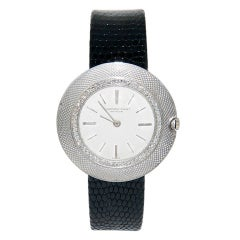 AUDEMARS PIGUET Platinum and Diamond Wristwatch