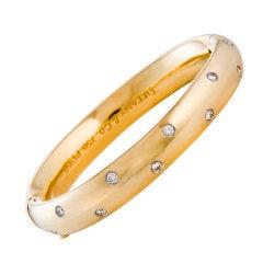 TIFFANY & COMPANY Gold Etoile Bracelet