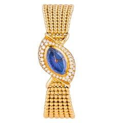 AUDEMARS PIGUET Yellow Gold, Diamond and Amethyst Bracelet Watch