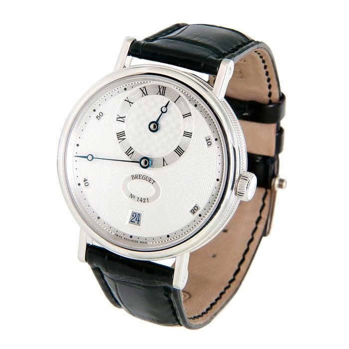 BREGUET Platinum Classique Regulator Wristwatch Ref 5187 2