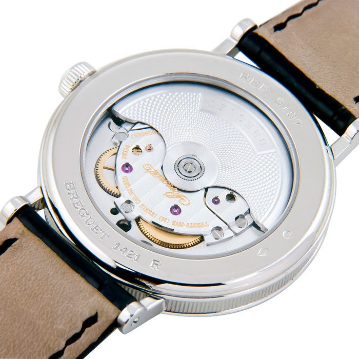 BREGUET Platinum Classique Regulator Wristwatch Ref 5187 4