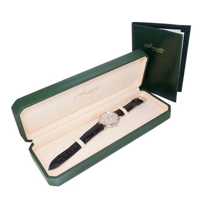 BREGUET Platinum Classique Regulator Wristwatch Ref 5187 5