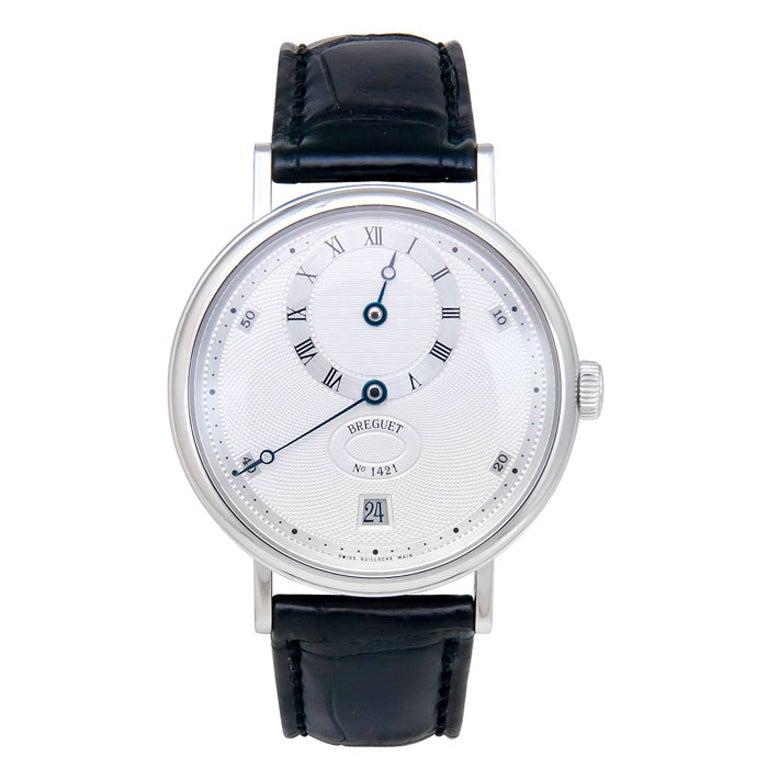 BREGUET Platinum Classique Regulator Wristwatch Ref 5187 1