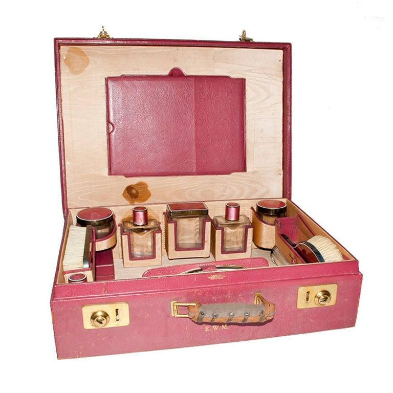 Cartier Vanity Travel Case At 1stdibs