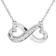 Tiffany & Co. Paloma Picasso Diamond Gold Heart Pendant