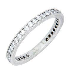 Tiffany & Co. Platinum Eternity Band Ring