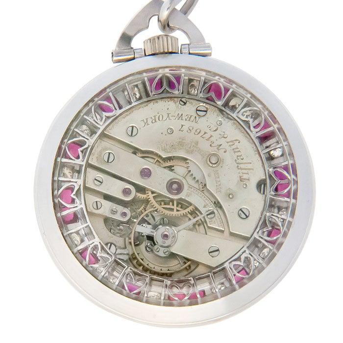 Patek Philippe Tiffany & Co. Pocket Watch with Important Baseball History 2