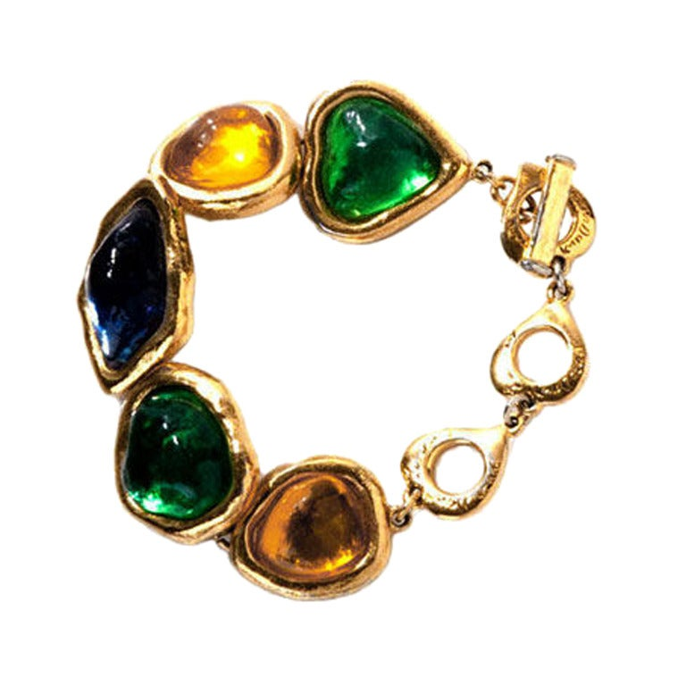 Yves saint laurent bracelet for sale at 1stdibs - Bracelet yves saint laurent ...