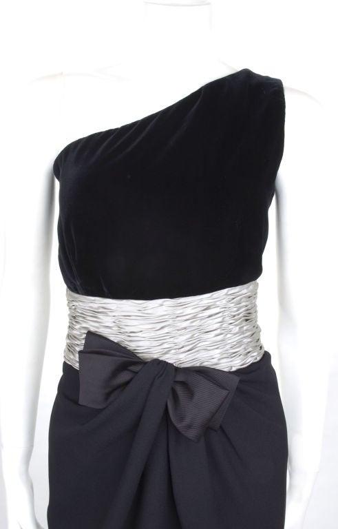 80's Valentino Cocktail Dress 3