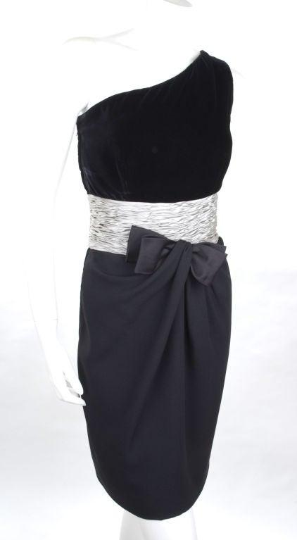 80's Valentino Cocktail Dress 4