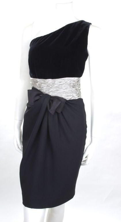 80's Valentino Cocktail Dress 5