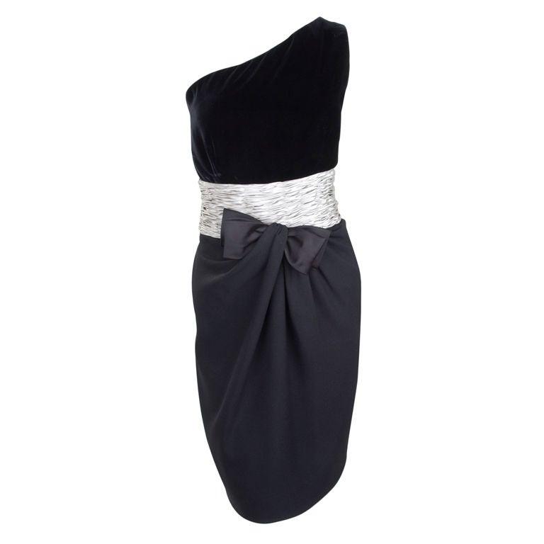 80's Valentino Cocktail Dress 1