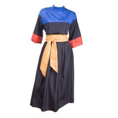 70's Yves Saint Laurent 2 piece Dress