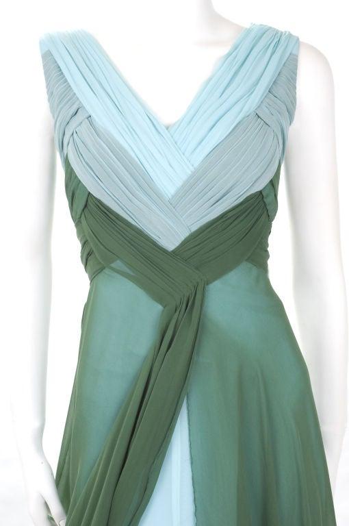 Valentino Boutique Silk Chiffon Gown 4