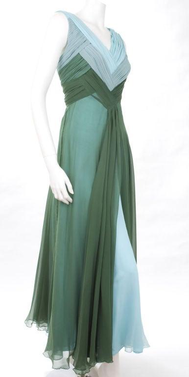 Valentino Boutique Silk Chiffon Gown 5