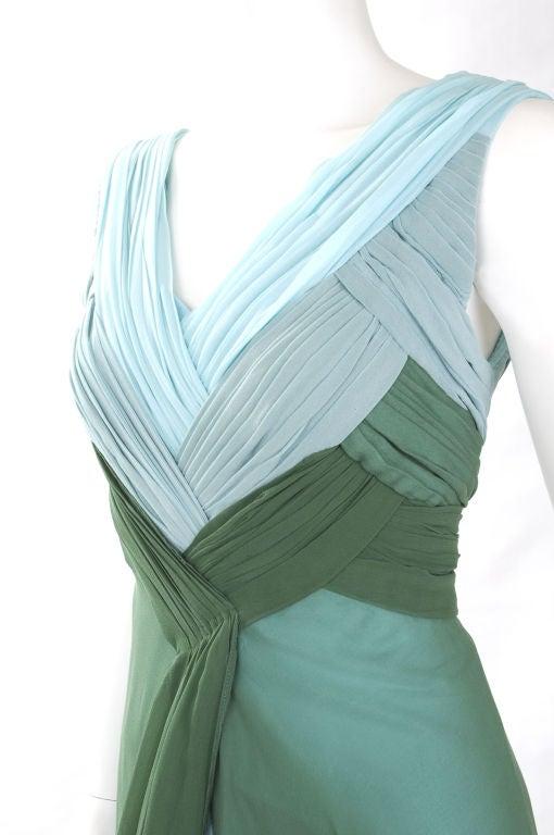 Valentino Boutique Silk Chiffon Gown 6